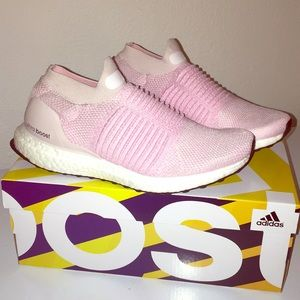 Adidas UltraBoost Laceless Pink Sneakers 💥